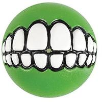 Rogz - Grinz Large 78mm Dog Treat Ball (Lime)