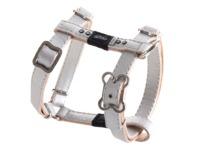 Rogz - Lapz 13mm Small Luna Adjustable Dog H-Harness (Ivory) - Cover