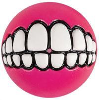Rogz - Grinz Medium 64mm Dog Treat Ball (Pink) - Cover