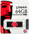 Kingston Technology - 64GB DataTraveler 106 USB 3.0 Flash Drive