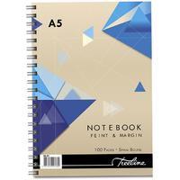 Treeline - A5 Spiral Notebook Side Bound Wiro - 100 Page