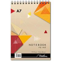 Treeline - A7 Spiral Notebook Top Bound Wiro 72 pg (Pack of 10)