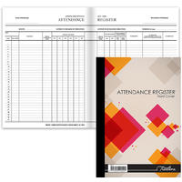 Treeline - A4 Hard Cover Quarter Bound Attendance Register - 96pg