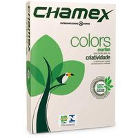 Chamex - A4 Tinted Colour Paper Ream - Ivory 500 Sheets (Pack of 10)