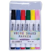 Collosso - Whiteboard Markers Bullet Point (Pack of 6)