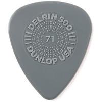 Dunlop Prime Grip Delrin 500 0.71mm Plectrum (Grey)