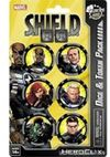 Marvel HeroClix - Nick Fury, Agent of S.H.I.E.L.D. Dice & Token Pack (Miniatures)