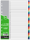 Treeline - A4 Index 1 to 31 Printed PVC Divider (Box of 10)