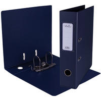 Treeline - A4 Lever Arch File PVC Navy Blue (Box of 10)