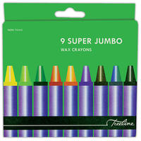 Treeline - Super Jumbo Wax Crayons (9 Piece Set)