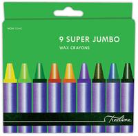 Treeline - Super Jumbo Wax Crayons (9 Piece Set) - Cover