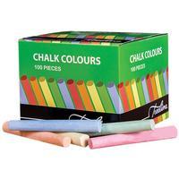 Treeline - Dust-Free Coloured Chalk - 100 Per Box