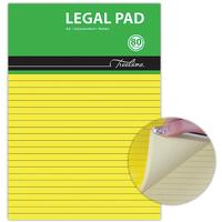Treeline - A4 Legal Pad Bond Paper 80 Sheet Yellow (Box of 10)