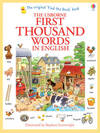 First Thousand Words In English - Heather Amery (Paperback)