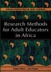UNESCO RESEARCH METHODSADULT EDUCA - Bagele Chilisa (Paperback)