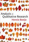 Analysis In Qualitative Research - Hennie Boeije (Paperback)