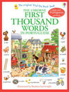 First Thousand Words In Portugese - Heather Amery (Paperback)