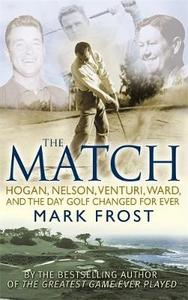 Match - Mark Frost (Paperback) - Cover
