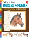 How to Draw Horses & Ponies - Russell Farrell (Paperback)