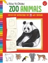 How to Draw Zoo Animals - Diana Fisher (Paperback)