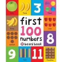 First 100 Numbers - Roger Priddy (Board book)