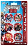 Marvel HeroClix - Avengers Assemble:  Captain America Dice and Token Pack (Miniatures)