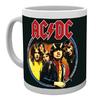 AC/DC - Band Members Image Print (Ceramic Boxed Mug)