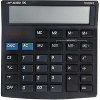 SDS - 12 Digit Dual Power Compact Desk Calculator