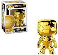 Funko Pop! Marvel - Marvel Studio's 10th Anniversary - Iron Man Gold Chrome Vinyl Figure - Cover