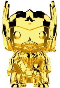 Funko Pop! Marvel - Marvel Studio's 10th Anniversary - Thor Gold Chrome Vinyl Figure - Cover