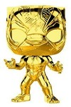 Funko Pop! Marvel - Marvel Studio's 10th Anniversary - Black Panther Gold Chrome Vinyl Figure