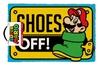 Super Mario - Shoes Off Colour Door Mat