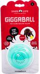 Dog's Life - The Alien Walkie Talkie Giggaball - Large - Dog Toy (Turquoise)