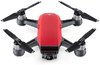DJI Spark Fly More Camera Drone Combo - Lava Red