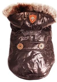 Dog's Life - Royal Parka Jacket With Hood - Black (X-Small) - Cover