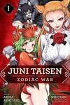 Juni Taisen: Zodiac War (Manga), Vol. 1 - Akira Akatsuki (Paperback)
