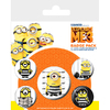 Despicable Me 3 - Minion Print Button Badges (5PK)