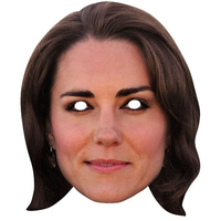 Duchess Of Cambridge - Kate Cardboard Face Mask - Cover