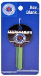 Rangers F.C. - Club Crest With Stadium Background Key Blank