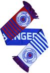 Rangers F.C. - Club Crest Wordmark Scarf