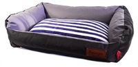 Dog's Life - Retro Lounger Waterproof Winter Bed - Black (XX-Large) - Cover