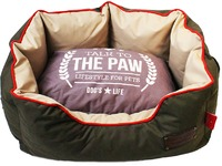 Dog's Life - Harper Sofa 600D Waterproof Bed - Olive Green (Medium) - Cover