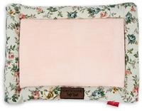 Cat's Life - Soft Spot Floral Cat Bed - Pink (Medium) - Cover