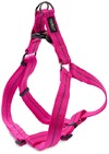Dog's Life - Reflective Supersoft Webbing Step In Harness - Hot Pink (Small)