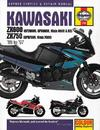 Kawasaki Zx600 and 750 Fours (85-97) Service and Repair Manual - Bob Henderson (Hardcover)