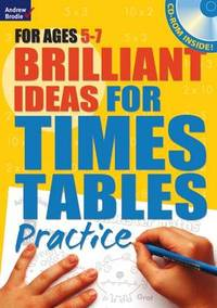 Brilliant Ideas for Times Tables Practice 5-7 - Molly Potter (Paperback) - Cover