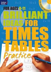 Brilliant Ideas For Times Tables Practice 9-11 - Molly Potter (Paperback) - Cover
