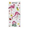 Emoji - Flamingos Towel