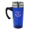 Everton - Club Crest Aluminium Travel Mug (Blue)