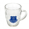 Everton - Club Crest Glass Tankard